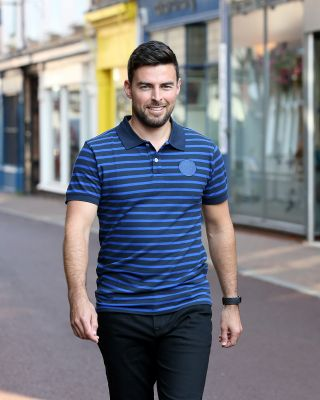 Leicester City Mens Navy Enderby Polo