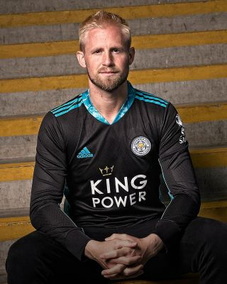 Leicester City King Power L/S Goalkeeper Shirt Black 2020/21