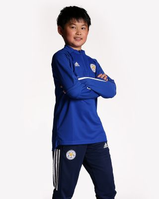 2020/21 Blue 1/4 Zip Training Top - Kids