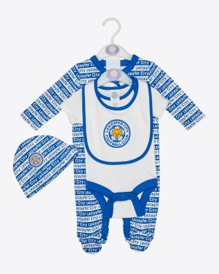 Leicester City Baby/Toddler 4 Piece Gift Set