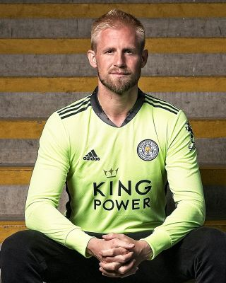 Leicester City King Power L/S Goalkeeper Shirt Green 2020/21