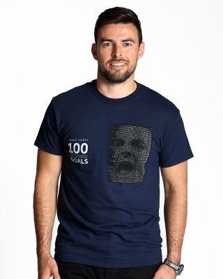 Leicester City Jamie Vardy 100 Goals T-Shirt