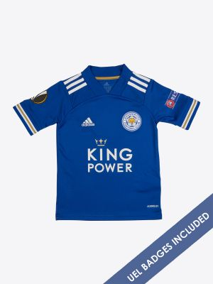 Timothy Castagne  - Leicester City King Power Home Shirt 2020/21 - Kids UEL