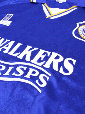 Leicester City Retro Shirt 1994/96 Home - HESKEY 9