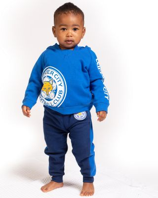 Leicester City Baby/Toddler Crest Hoody
