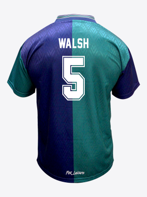 Leicester City Retro Shirt 1995/96 Third - WALSH 5