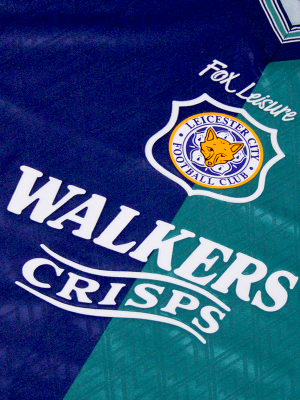 Leicester City Retro Shirt 1995 Third