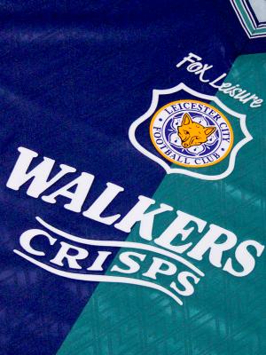 Leicester City Retro Shirt 1995/96 Third - HESKEY 11