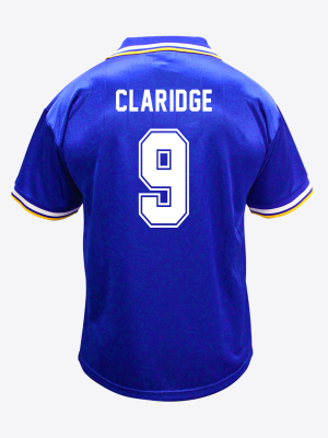 Leicester City Retro Shirt 1994/96 Home - CLARIDGE 9