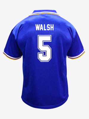 Leicester City Retro Shirt 1994/96 Home - WALSH 5