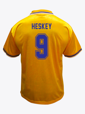 Leicester City Retro Shirt 1994/96 Away - HESKEY 9