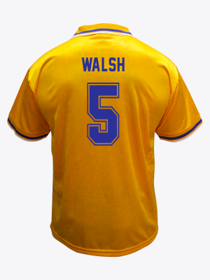 Leicester City Retro Shirt 1994/96 Away - WALSH 5