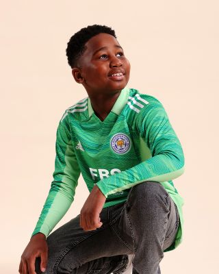 Leicester City Goalkeeper Shirt Green 2021/22 - Kids