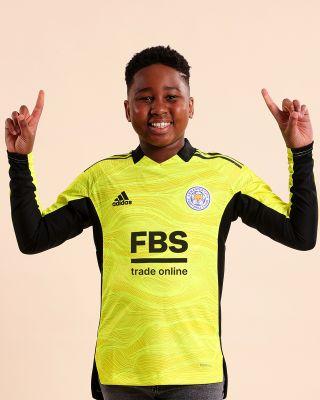 Leicester City Goalkeeper Shirt Yellow 2021/22 - Kids