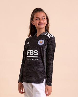 Leicester City Goalkeeper Shirt Black 2021/22 - Kids