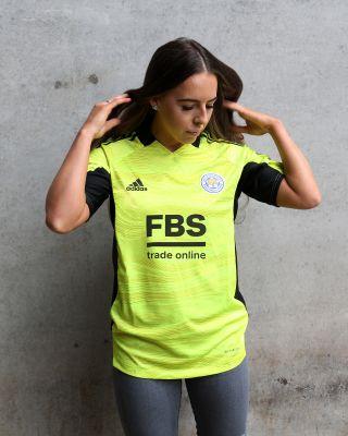 Leicester City S/S Goalkeeper Shirt Yellow 2021/22