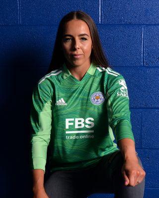 Leicester City L/S Goalkeeper Shirt Green 2021/22