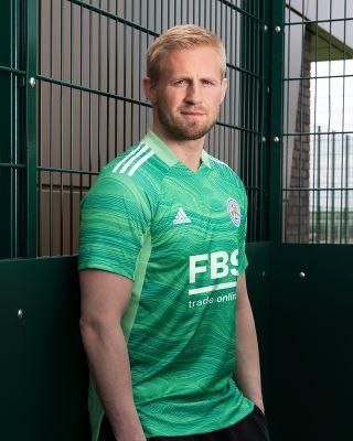 Leicester City S/S Goalkeeper Shirt Green 2021/22