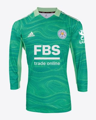 Kasper Schmeichel - Leicester City L/S Goalkeeper Shirt Green 2021/22