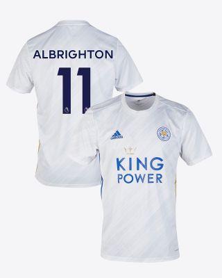 Marc Albrighton - Leicester City White Away Shirt 2020/21