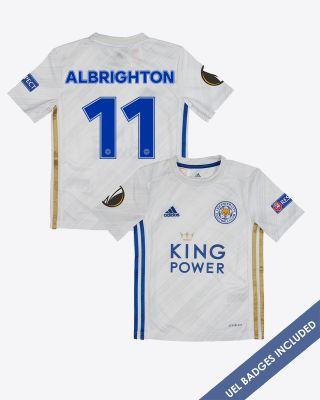 Marc Albrighton - Leicester City Away Shirt 2020/21 - Kids UEL