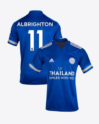 Marc Albrighton - Leicester City TSWY Home Shirt 2020/21 - Kids