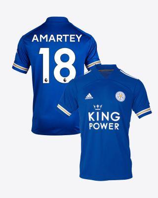 Daniel Amartey - Leicester City King Power Home Shirt 2020/21