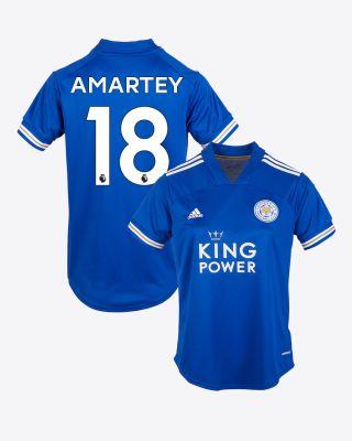 Daniel Amartey - Leicester City King Power Home Shirt 2020/21 - Womens