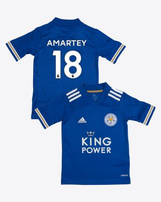 Daniel Amartey - Leicester City King Power Home Shirt 2020/21 - Kids