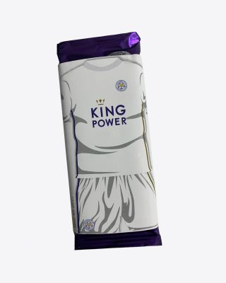 Leicester City Cadbury Bar - White Away Kit