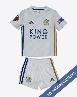 James Justin - Leicester City Away Shirt 2020/21 - Mini Kit UEL