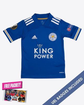Leicester City King Power Home Shirt 2020/21 - Kids UEL