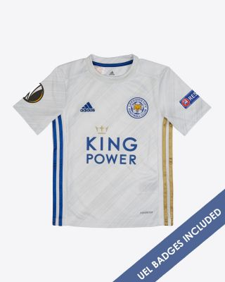James Justin - Leicester City Away Shirt 2020/21 - Kids UEL