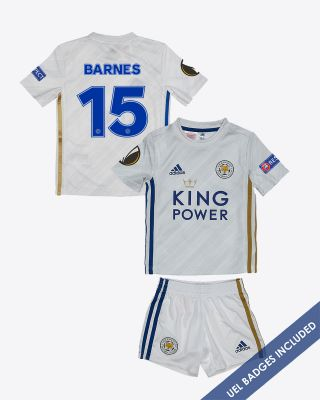 Harvey Barnes - Leicester City Away Shirt 2020/21 - Mini Kit UEL