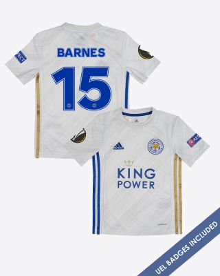 Harvey Barnes - Leicester City Away Shirt 2020/21 - Kids UEL
