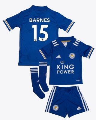 Harvey Barnes - Leicester City King Power Home Shirt 2020/21 - Mini Kit