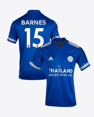 Harvey Barnes - Leicester City TSWY Home Shirt 2020/21