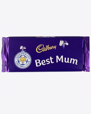 Leicester City 110g Best Mum Cadbury Bar