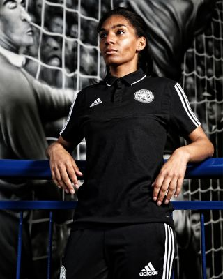 2019/20 adidas Leicester City Adult Black Training Polo