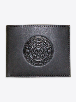 Leicester City Black Leather Wallet