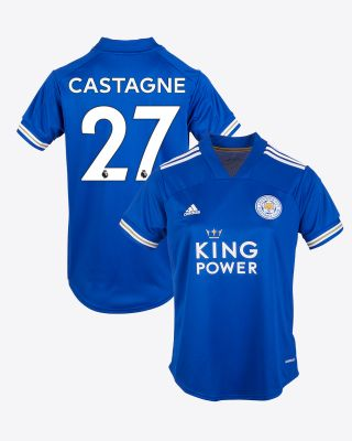 Timothy Castagne  - Leicester City King Power Home Shirt 2020/21 - Womens