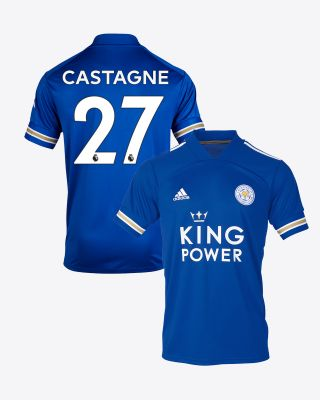 Timothy Castagne  - Leicester City King Power Home Shirt 2020/21