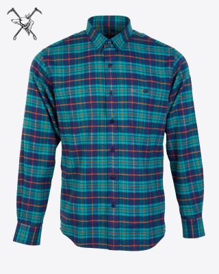 Fox & Crop Mens Check Shirt