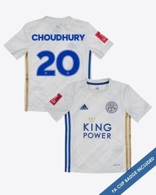 Hamza Choudhury - Leicester City Away Shirt 2020/21 - Kids FA CUP