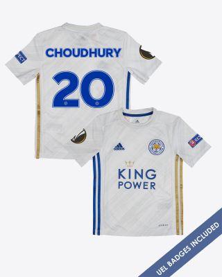 Hamza Choudhury - Leicester City Away Shirt 2020/21 - Kids UEL