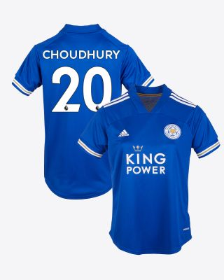 Hamza Choudhury - Leicester City King Power Home Shirt 2020/21 - Womens