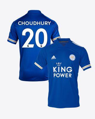 Hamza Choudhury - Leicester City King Power Home Shirt 2020/21