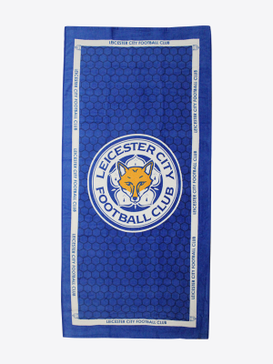 Leicester City Crest Beach Towel