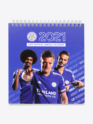 Leicester City 2021 Desk Calendar