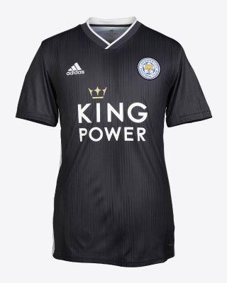 2019/20 adidas Leicester City Junior Grey Away Shirt